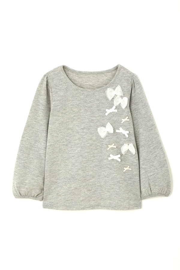 《KIDS》ランダムリボンロンTシャツ