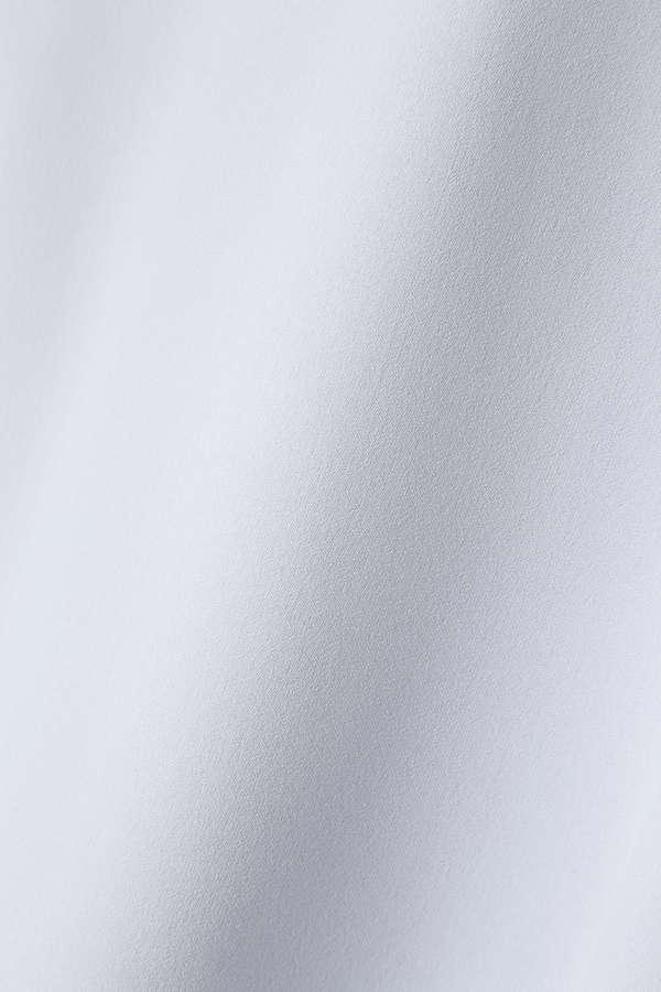 〈ウォッシャブル〉シフォンティアードブラウス半袖