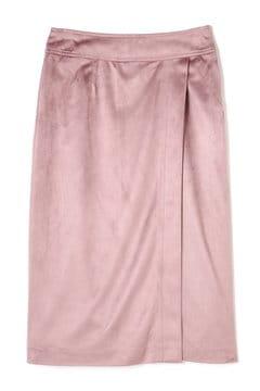 スプリングカラースエードスカート