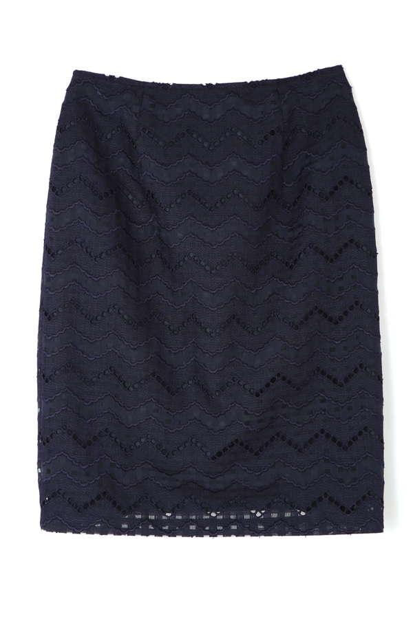 【先行予約_3月上-中旬入荷予定】エンブロイダリーレーススカート