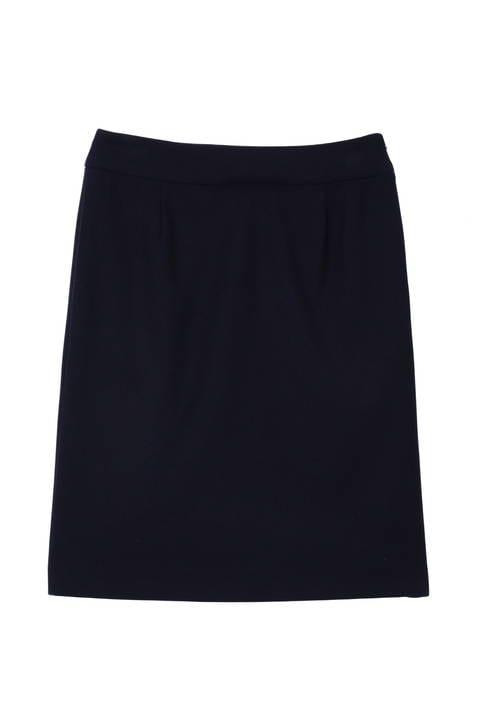 〈ウォッシャブル〉ハイカウントドビーセットアップ スカート