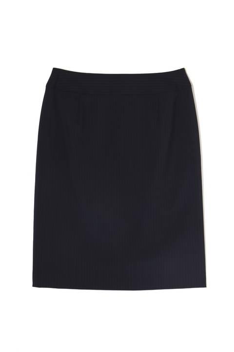〈ウォッシャブル〉2/80TWストレッチセットアップ スカート