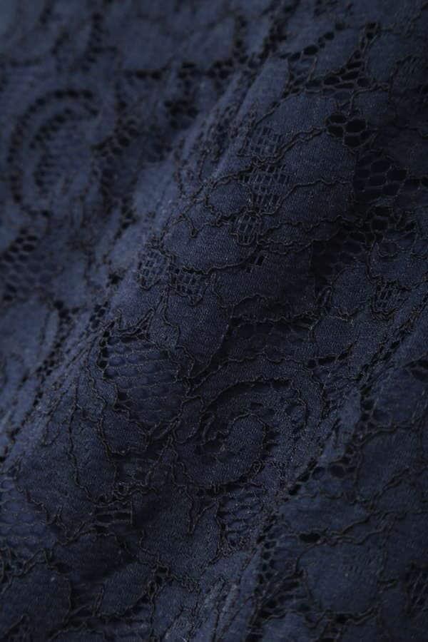 [WEB限定]スカラレースタイトスカート