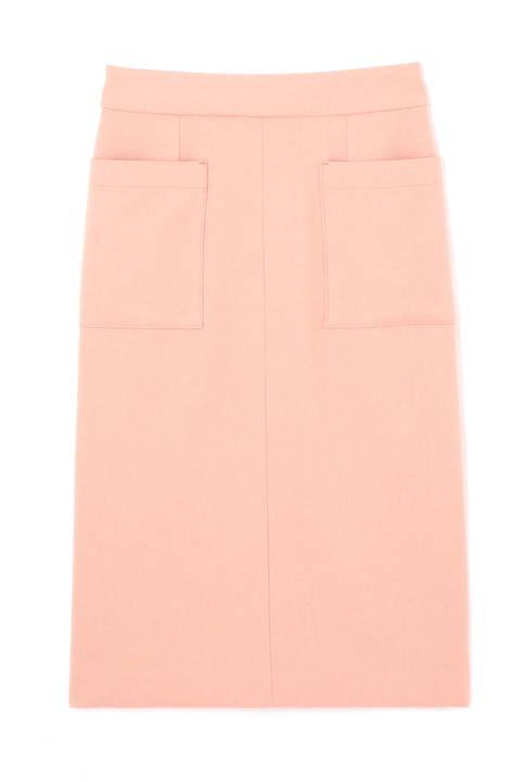 〈ウォッシャブル〉ポケットタイトスカート