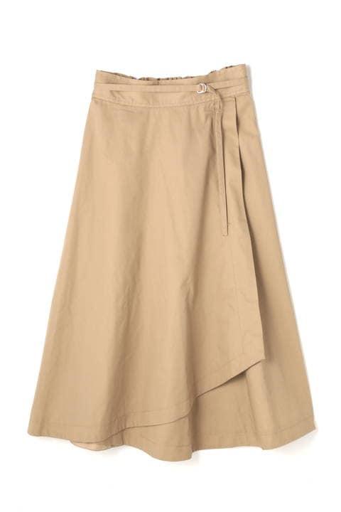 アシメラップスカート