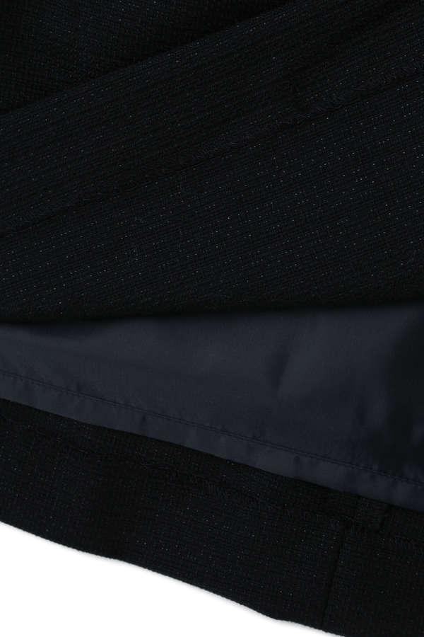 《BLUE》ラメドビーツイード セットアップ ワンピース