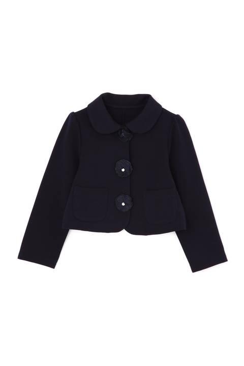《KIDS》フラワーモチーフ付きジャケット