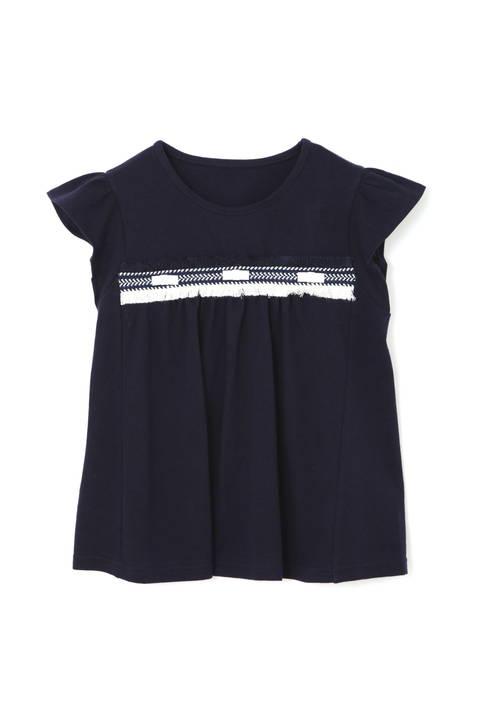 《KIDS》フリンジポイントTシャツ