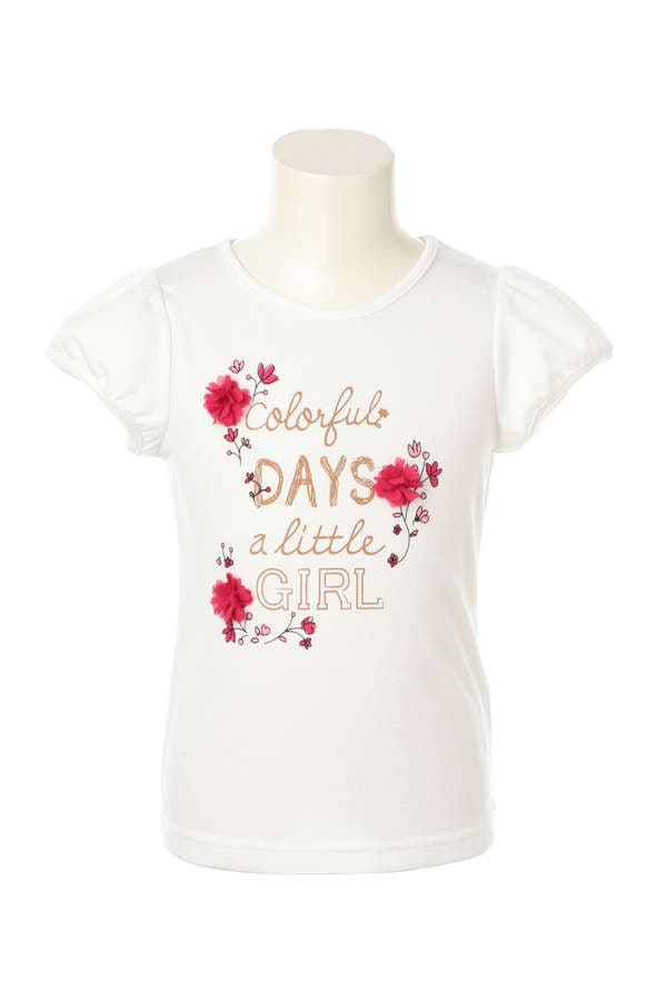 《KIDS》カラフルロゴTシャツ