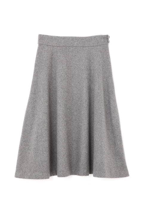 サイドプリーツフレアスカート