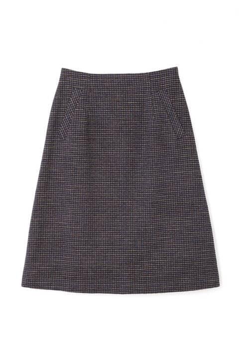 モールチェックAラインスカート