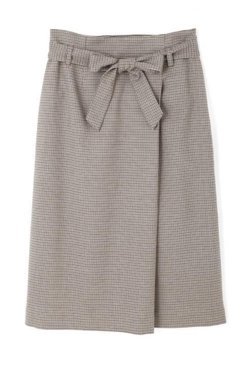 ベルテッドストレートスカート
