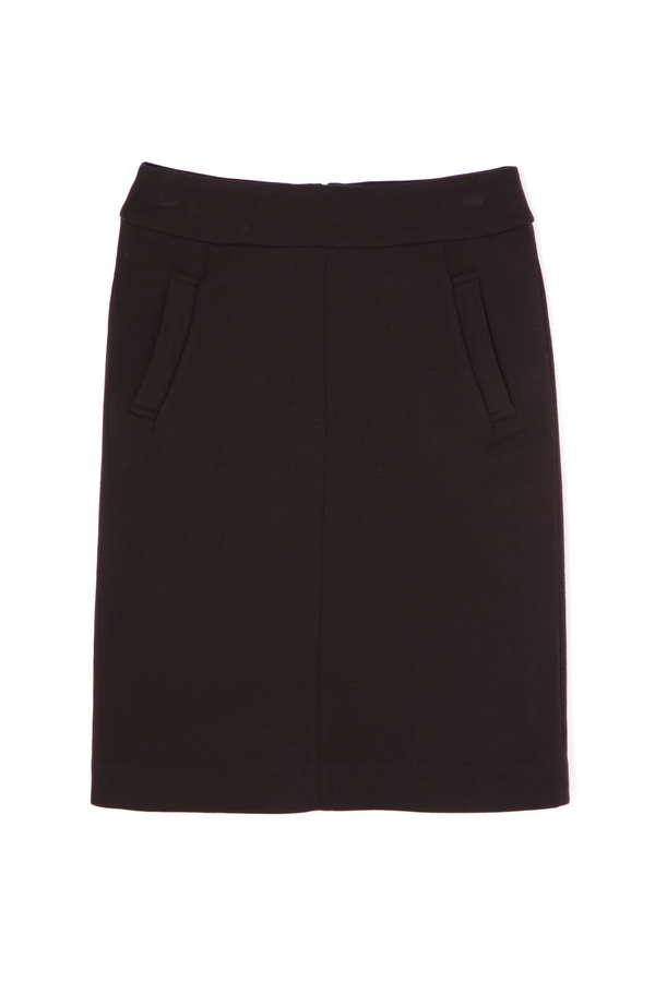 二重織ストレッチタイトスカート