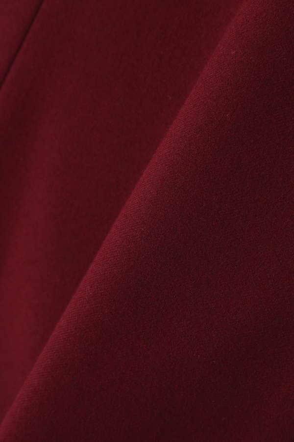 〈ウォッシャブル〉ウール混マーメイドシルエットスカート