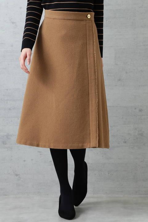 ドビーフレアスカート