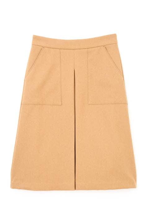 カルゼボックスプリーツスカート