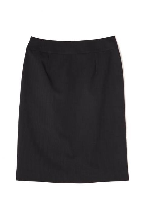 〈ウォッシャブル〉2/90TWストレッチセットアップ スカート