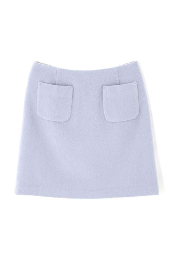 ウールビーバースカート