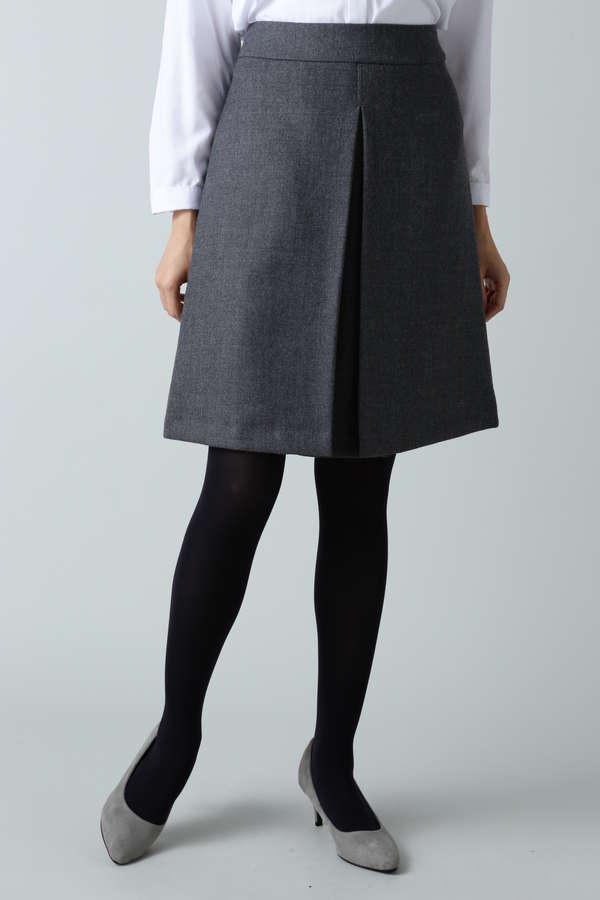 ボタニサージボックスプリーツスカート