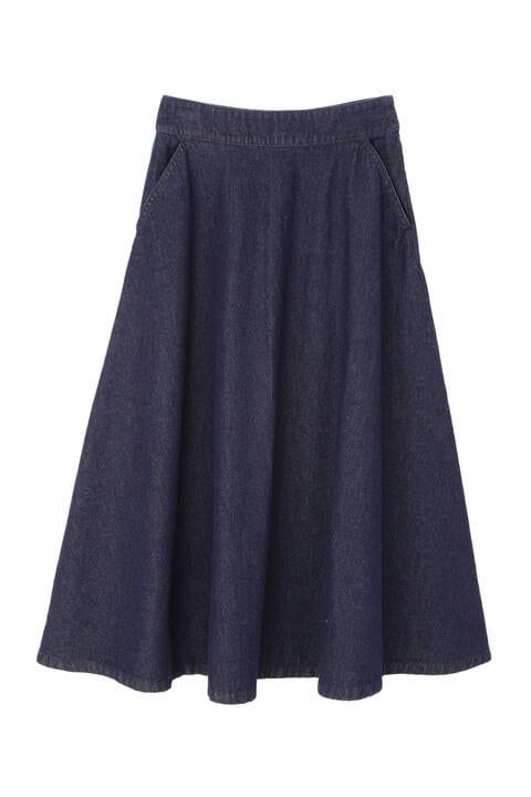デニムマキシスカート