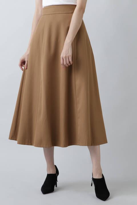 カラーマキシスカート