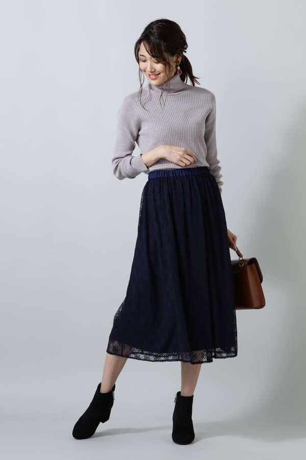 レーススカート