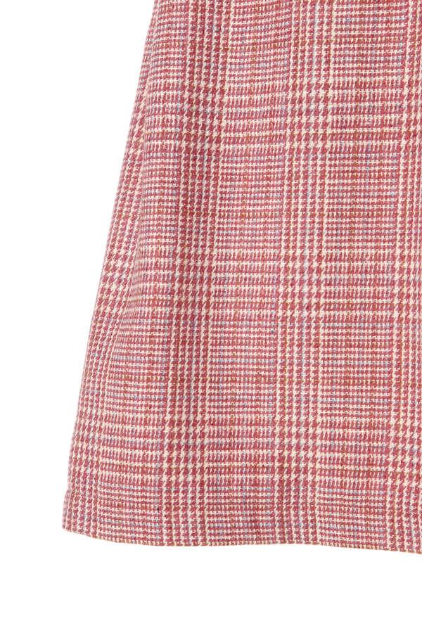 《KIDS》チェックジャンパースカート