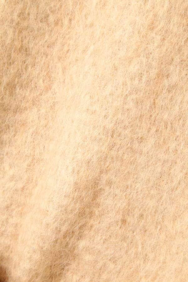 ヘアリーシャギーコート