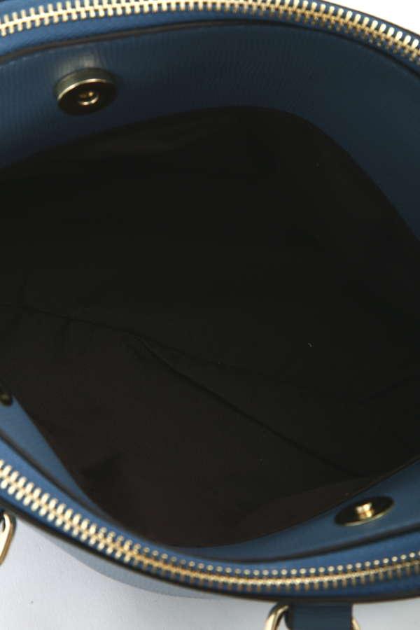 ダブルファスナーハンドバッグ