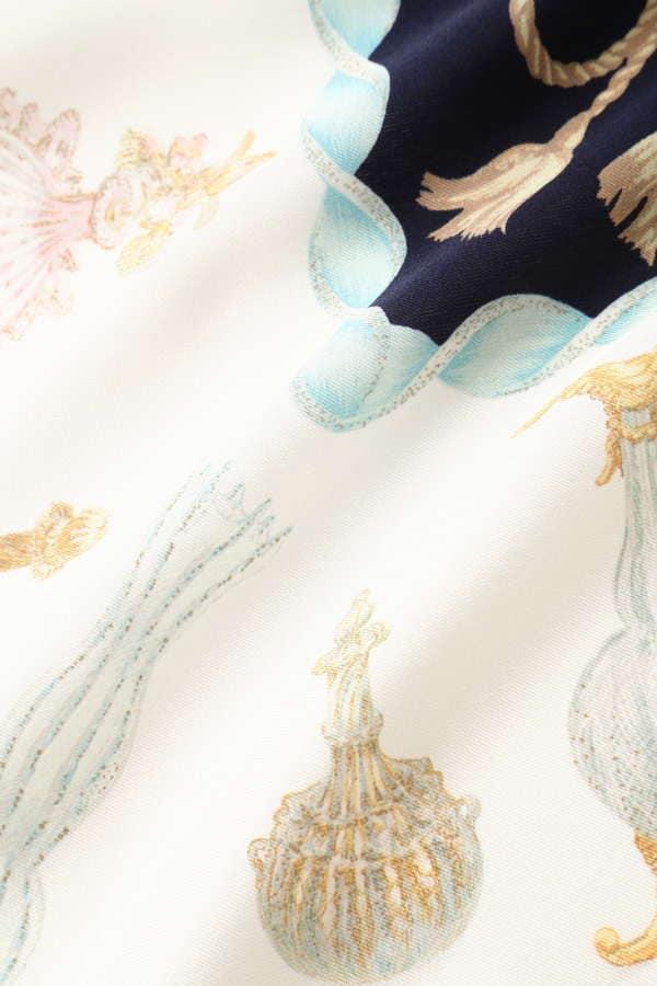ヴェネチアングラス柄スカーフ