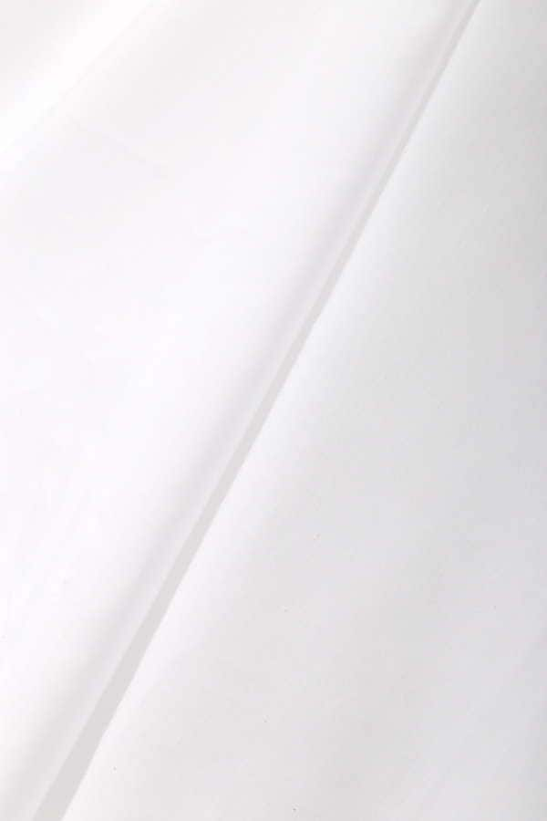 [洗える]バンドカラースキッパーブラウス半袖