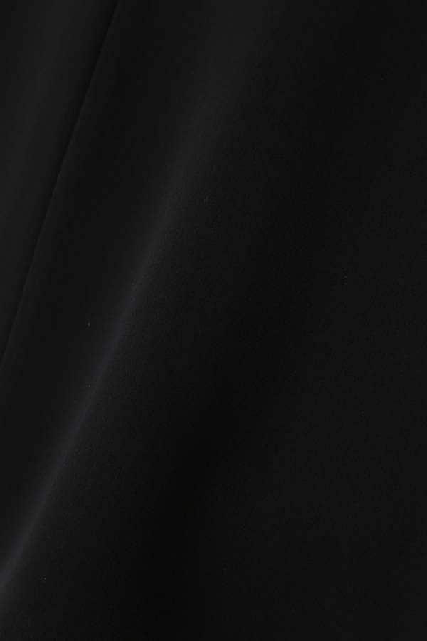 [洗える]エアリーダブルクロスブラウス半袖