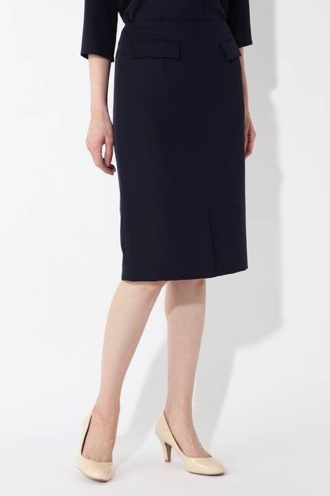 [WEB限定]フラップポケットタイトスカート/セットアップ対応
