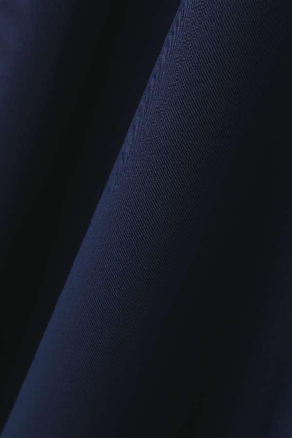〈ウォッシャブル〉ドッキングトレンチディテールワンピース