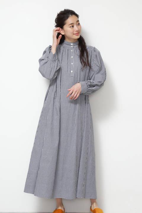 【NBB×VERY×神山まりあコラボ】スタンドマキシワンピース