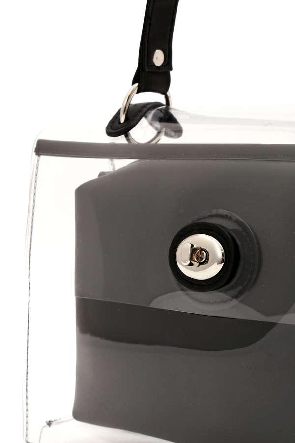 2WAY PVCショルダーバック