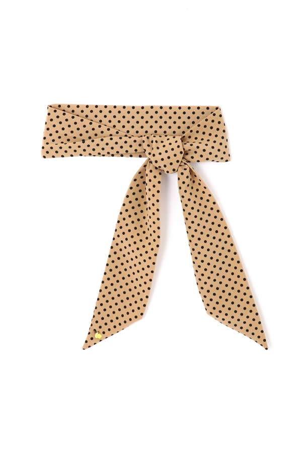 ドットロングスカーフ