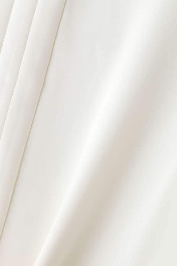 [洗える]エアリーダブルクロスブラウス