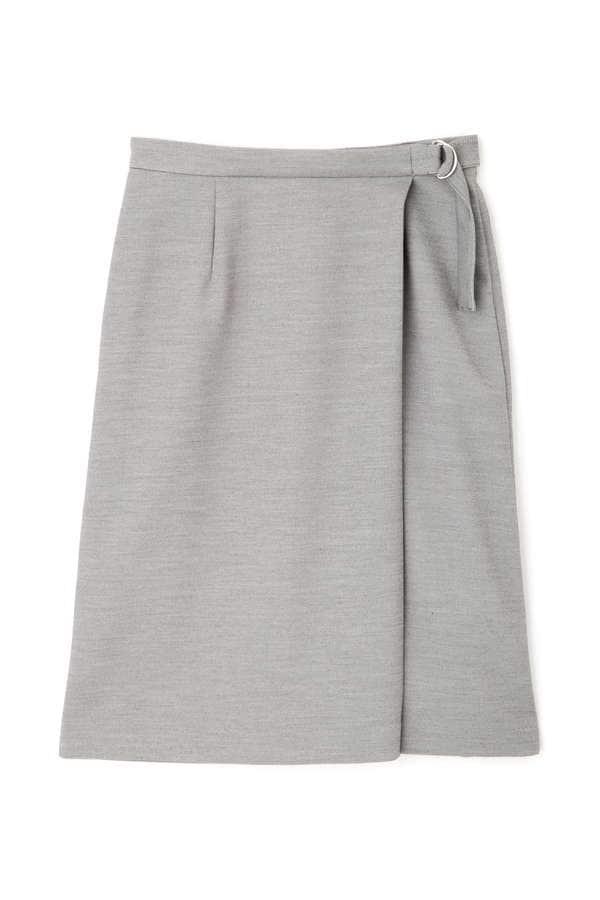 [洗える]TRダブルクロスセットアップ スカート