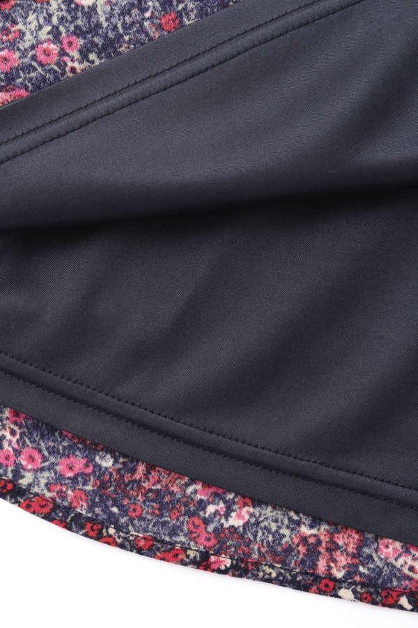 ノスタルジックフラワープリントスカート