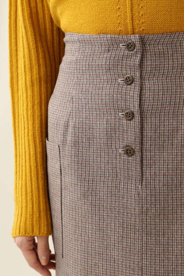 メランジガンクラブスカート