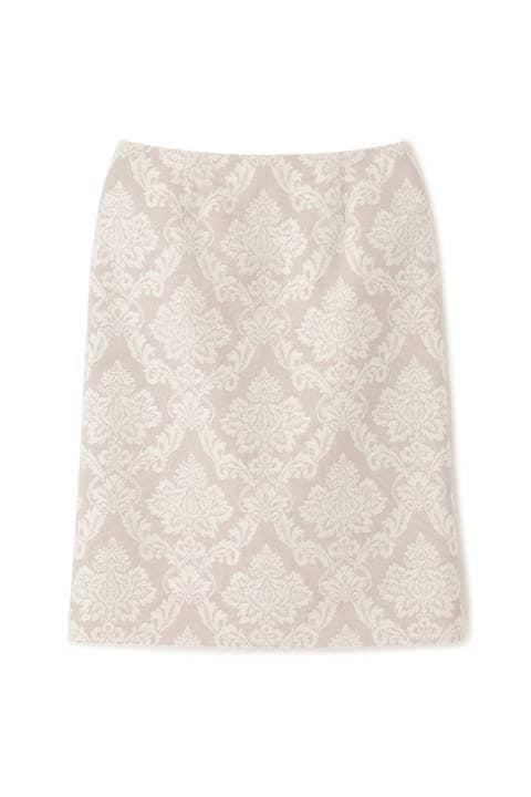 【先行予約_11月中旬-下旬入荷予定】ロココジャガードタイトスカート
