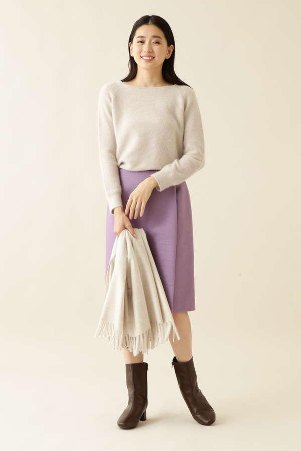 [洗える]カルゼタイトスカート