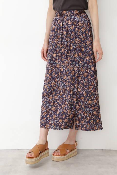 サテンサラサプリントスカート
