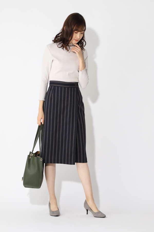 [洗える]レジメンタルストライプスカート