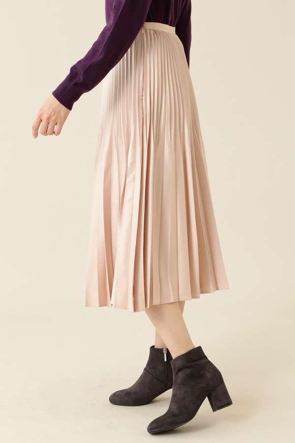 親子プリーツスカート