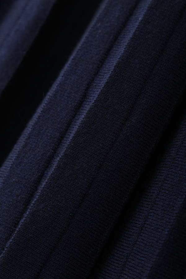 [洗える]ニットプリーツスカート