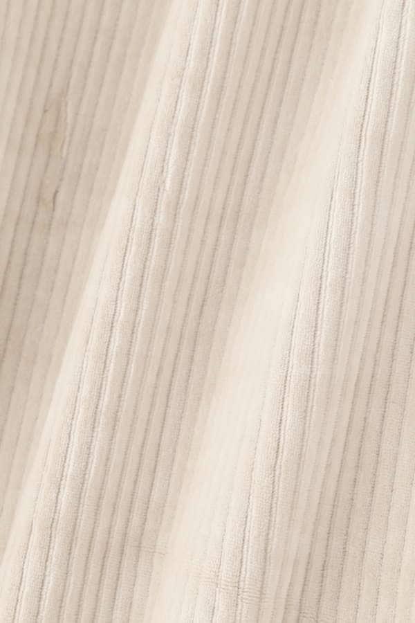 [洗える]コーデュロイカットソーワイドパンツ