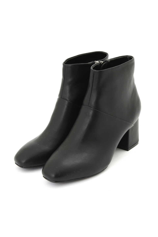 【公式/NATURAL BEAUTY BASIC】スレンダーショートブーツ/女性/靴・ブーツ/スムースクロ/サイズ:24.0/(甲皮の使用材)合成皮革(底材の種類)合成底