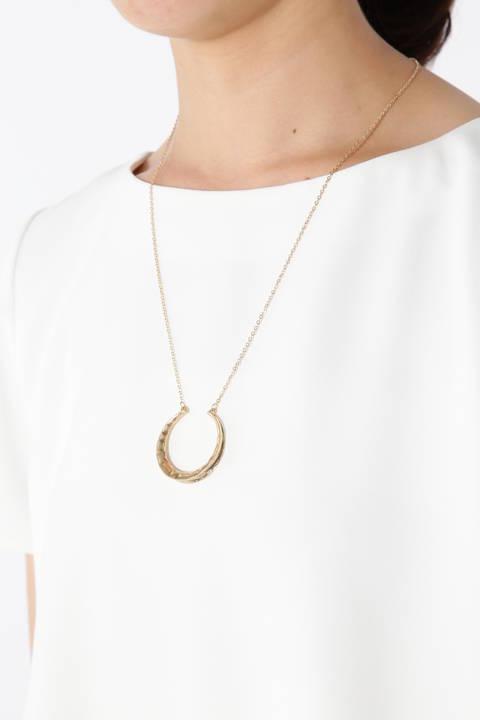 メタルホーンワントップネックレス